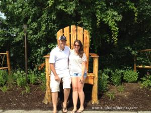 Random Adirondack chair in a random town.  What's more Adirondack than this? lol